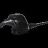 Ebony Bald Eagle Pipe